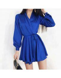 Obleka - koda 8745 - temno modra
