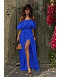 Obleka - koda 3336 - temno modra