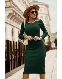 Obleka - koda 8485 - olivna