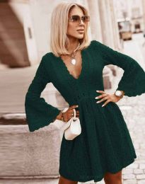 Obleka - koda 6239 - temno zelena