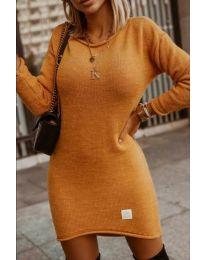 Obleka - koda 0824 - gorčica